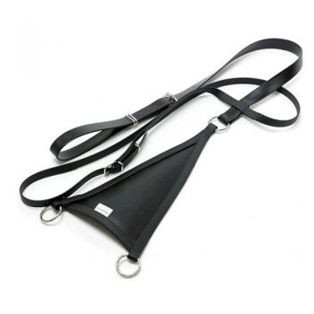 All weather/synthetic bib martingale