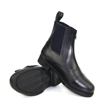 Zipped front Jodhpur boots