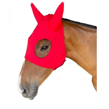 Race Hood - Red with Silicone Ears
