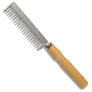 Mane Comb - Wooden Handle